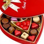 sevgili tadinda çikolata