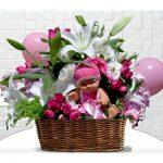 yeni doğan bebek çiçekleri