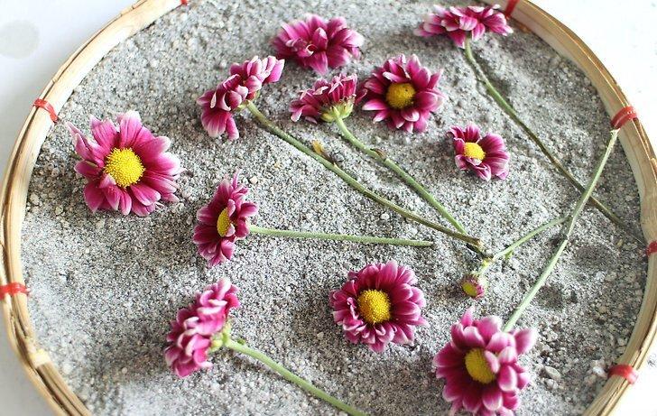 Photo of Kurutulmuş Çiçeklerden Oluşan Çok Şık Çiçekler